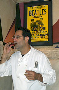 Mark Marotto: the harmonica playing chef